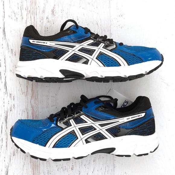 Asics Shoes | Nib Boys Blue Sneakers
